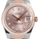Rolex DateJust 31 Steel and Everose Gold Pink/Diamonds Oyster 178271
