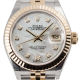 Rolex Lady-Datejust 28 Steel/Yellow Gold Mother of Pearl/Diamonds Jubilee 279173