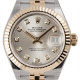 Rolex Lady-Datejust Silver/Diamonds Jubilee 279173