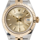 Rolex Lady-Datejust 28 Champagne/Index Jubilee 279173