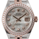 Rolex Lady-Datejust 28 Mother of Pearl/Diamonds 279381RBR