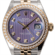 Rolex Lady-Datejust 28 Steel and Yellow Gold Lavender/Diamonds Jubilee 279383RBR