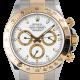 Rolex Cosmograph Daytona Bimetal White Dial 116523