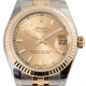 Rolex Lady Datejust 31 Steel and Yellow Gold Champagne/Index Jubilee 178273