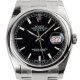 Rolex DateJust 36 Steel Black/Index Oyster 116200