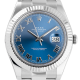 Rolex Datejust II White Rolesor Blue/Roman 116334