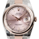 Rolex DateJust 36 Steel and Everose Gold Pink/Index Oyster 116201