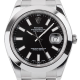 Rolex DateJust II Stainless Steel Black/Index 116300