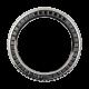 Rolex GMT-Master II Black Baguette Cut Precious Stones Custom Bezel