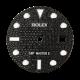 Rolex GMT-Master II 40mm Black Diamond Pavé Custom Dial