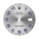 Rolex DateJust 41mm Steel/Blue Arabic Numerals Original Factory Dial