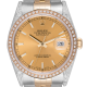 Rolex Datejust 36 Bi-Metal Jubilee Diamond Set Custom Watch 116203