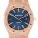 Audemars Piguet Royal Oak 41mm Full Rose Gold Blue Dial 15400OR.OO.1220OR.03