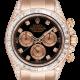 Rolex Daytona 18ct Everose Gold Custom Diamond Set 116505