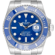 Rolex Submariner Date 18ct White Gold Watch Blue Dial 116619LB
