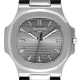 Patek Philippe Nautilus 5711G-001 White Gold Black Leather Strap