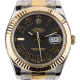 Rolex DateJust II Steel/Yellow Gold Grey/Roman Numeral 116333