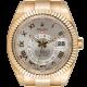 Rolex Sky-Dweller Yellow Gold Silver/Roman 326938