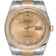 Rolex DateJust 36 Steel & Yellow Gold Champagne Dial Oyster 116233