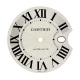 Cartier Ballon Bleu 42mm White/Black Roman Numeral Original Factory Dial