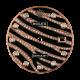 Rolex DateJust 36mm Rose Gold Zebra Design Diamond Set Custom Dial
