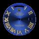Rolex Day-Date 41mm Blue/Diamond Numerals Custom Dial