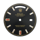 Rolex Day-Date 40mm Black/Diamonds Custom Dial