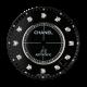 Chanel J12 38mm Black/ Diamond Hour Markers Custom Dial