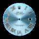 Rolex DateJust 41mm Blue/Diamond Roman Numerals Custom Dial