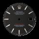Rolex DateJust 36mm Black/Index Original Factory Dial