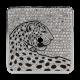 Cartier Santos 100 Large Diamond Pavé Panthère Custom Dial