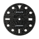 Rolex Submariner 40mm Black Diamond Pavé Custom Dial