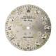 Rolex Air-King 40mm Flowers Design Diamond Hour Markers Custom Dial