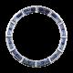 Rolex Daytona Baguette Cut Blue Sapphire Precious Stones Custom Bezel