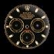 Rolex Daytona 40mm Black/Gold Custom Dial