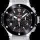 Hublot Big Bang 44mm Steel Watch with Ceramic Bezel 301.SB.131.RX
