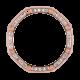 Custom Rose Gold Bezel for Audemars Piguet Royal Oak Offshore 44mm
