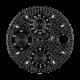 Audemars Piguet Royal Oak Offshore 42mm Black Diamond Pavé Custom Dial