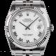 Rolex DateJust 36mm White/Roman Jubilee 116234