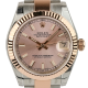 Rolex DateJust Lady 31mm Steel/Rose Gold Pink/Indexes Oyster 178271