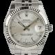 Rolex DateJust Lady 31mm Steel Silver/Index Jubilee 178274