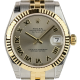 Rolex DateJust Lady 31mm Steel/Yellow Gold Silver/Roman 178273