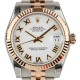 Rolex DateJust Lady 31mm Steel/Rose Gold White/Roman Jubilee 178271