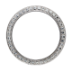 Rolex Daytona Steel Custom Bezel with Round Brilliant Diamonds