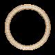Rolex Daytona Yellow Gold Custom Bezel with Round Brilliant Diamonds