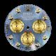 Rolex Daytona Blue Mother Of Pearl/Diamond Hour Markers Custom Dial
