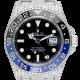 Rolex GMT-Master II Stainless Steel Full Diamond Set 116710BLNR