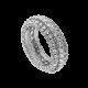 Time4Diamonds Full Pave Mens White Gold Ring