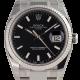 Rolex Date Steel Black/Index Oyster 34mm 115234