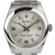 Rolex Oyster Perpetual 31mm Silver/Arab Pink Index Oyster 177200